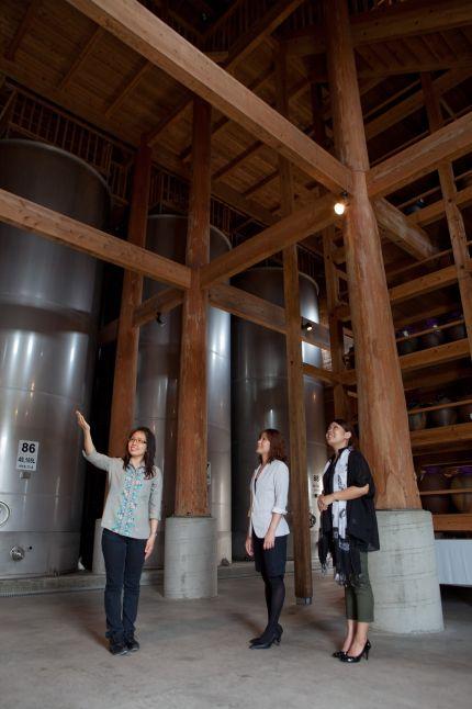 忠考酒造 木造古酒蔵