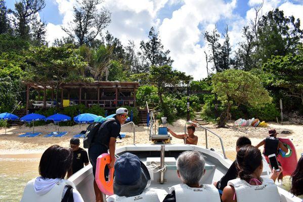 ホテルムーンビーチ 「ヨウ島(じま)」一日体験ツアー